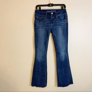 American eagle boot cut jeans size 6